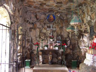 Immacilate Conception Grotto. White Plains