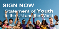 Statement of Youth to the UN and the World