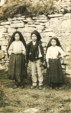 the Fatima children